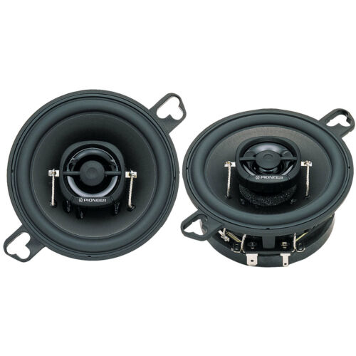"""2 Pioneer 3.5/"""" Car Stereo Speaker Pair.Dash GM replacement.shallow Mount. NEW"""