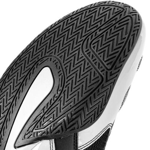 Venum Elite Professional Boxing Shoes Black//White