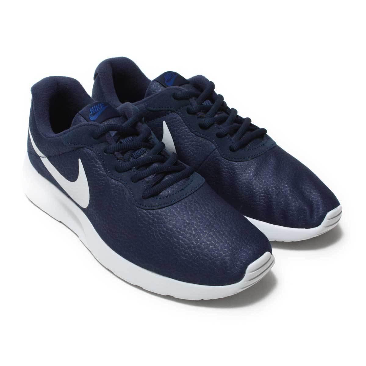 876899-402 Men's Nike Tanjun Premium Obsidian/White Sizes 8-12 New In Box