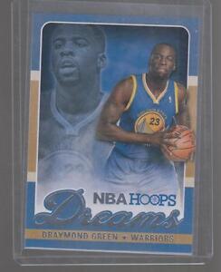 2013-14-DRAYMOND-GREEN-PANINI-NBA-HOOPS-DREAMS-CARD-17-WARRIORS