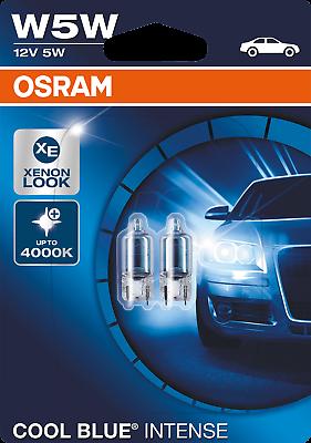 Osram W5W HALOGEN Cool Blue INTENSE Standlicht 2er Set 4000K 2825HCBI-02B