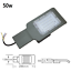FARO-PALO-LED-STRADALE-LAMPIONE-PARETE-LUCE-INDUSTRIALE-ESTERNO-IP65-ARMATURA miniatura 3