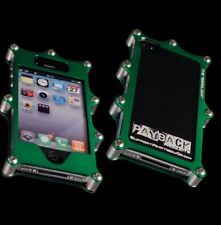 iPhone 4/4S Green/Flat Black BEADLOCK Aluminum Case Off-road Motocross ATV UTV