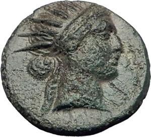 RHODES-Island-off-Caria-190BC-RARE-R2-Authentic-Ancient-Greek-Coin-HELIOS-i64814