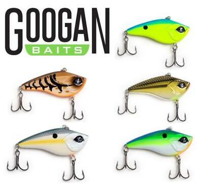"Catch co googan squad klutch lipless crankbait 2 1//2/"" 1//2oz ghost gill"