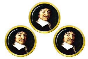 Rene-Descartes-Marqueurs-de-Balles-de-Golf