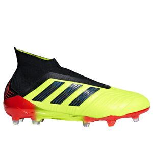 adidas-Men-039-s-Predator-18-FG-Solar-Yellow-Core-Black-DB2010