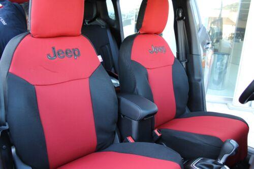 FODERE COPRISEDILI Jeep Renegade SU MISURA Foderine RENEGADE COMPLETE Arancio