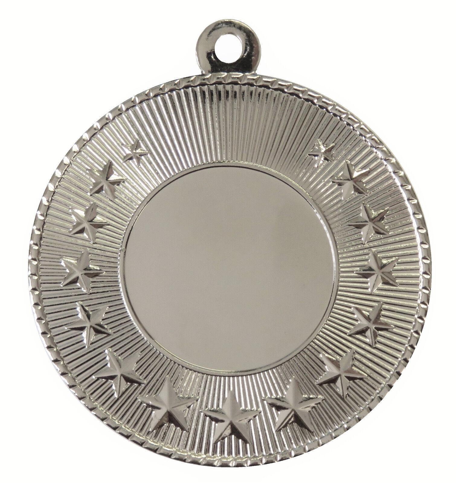 Finisher métal médailles 50 mm, mm, mm, pack de 10, rubans, insère ou propre Logo & Texte b8bcbe