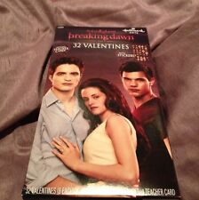 Twilight Saga Breaking Dawn Part 1 2012 Valentines Cards Edward Bella Jacob