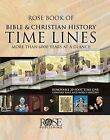 Rose Book of Bible & Christian History Time Lines  : More Than 6000 Years at a Glance by Rose Publishing (CA) (Hardback, 2006)