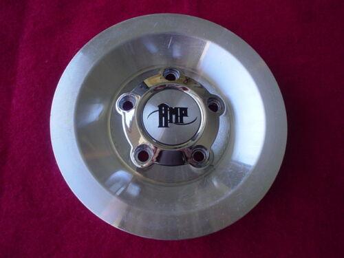 AMP Custom Wheel Center Cap Chrome /& Machined Finish S312-10 8240-15