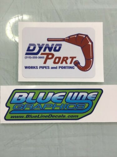 Dyno Port vintage reproduction Decal ATC TRX LT 250R 250 350X 200X KXT CR KX RM