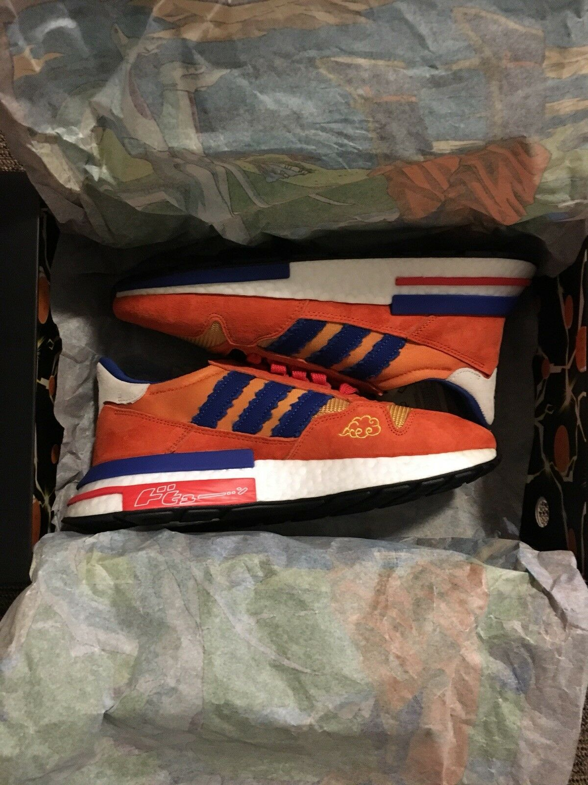 Adidas ZX 500 Son Goku Dragon Ball Size 8