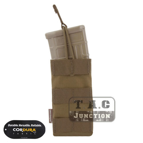 Emerson Tactical 5.56 .223 Modular Single Open Top Magazine Mag Pouch MOLLE PALS