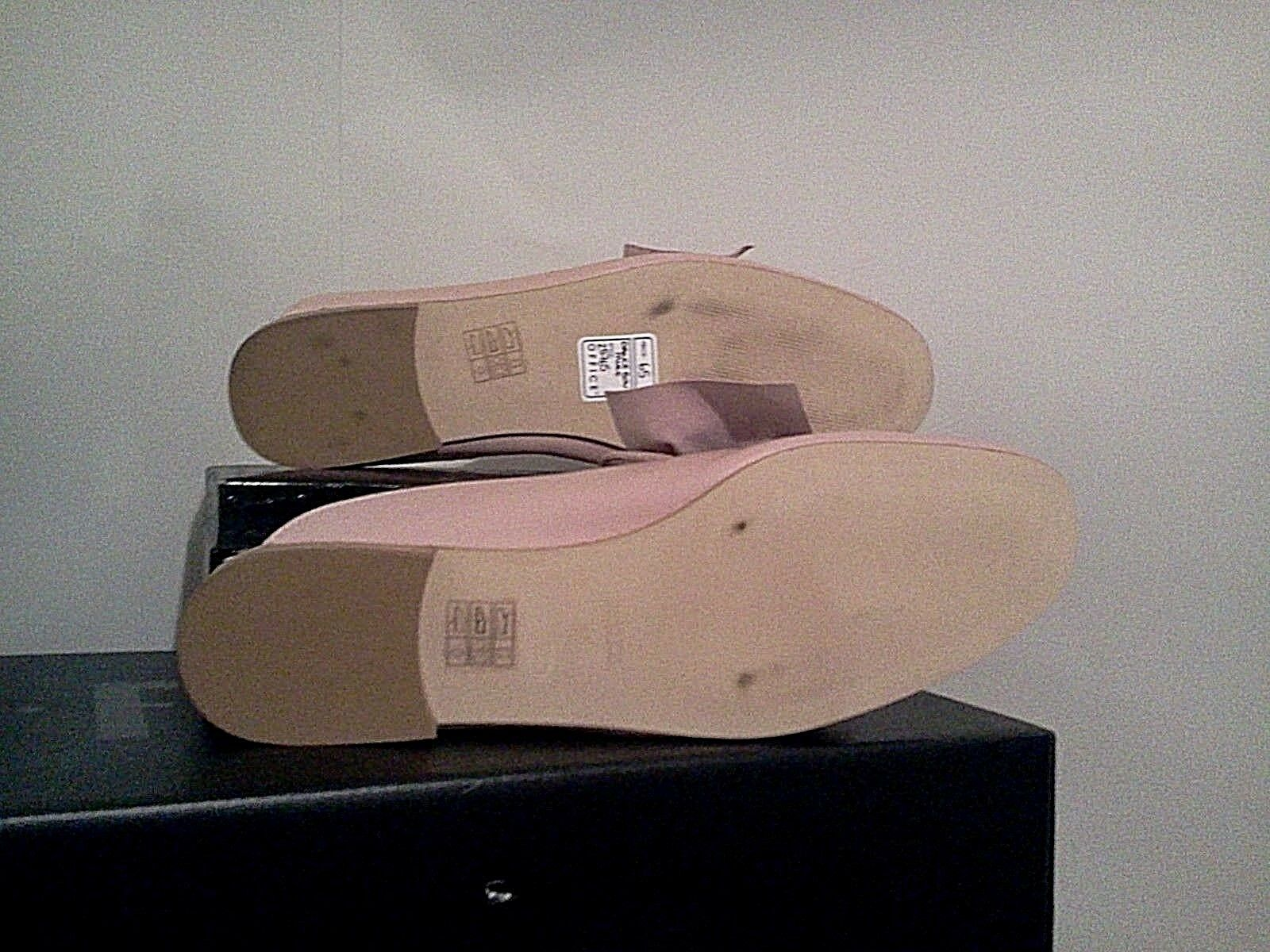 OFFICE london schuhe schuhe schuhe woman sabot pink staple mule 100% total genuine Leder uk 6 f832ca
