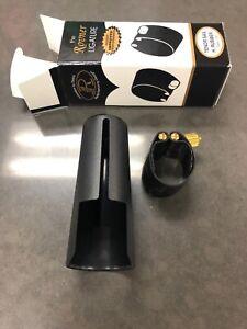 Rovner Ténor Sax Ligature H. Caoutchouc Foncé 2r Brand New In Box-afficher Le Titre D'origine Les Consommateurs D'Abord