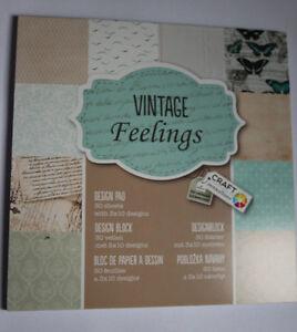 Craft-Paper-Pad-Motivpapier-034-Vintage-feelings-034