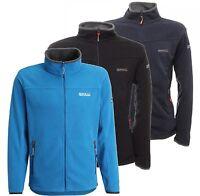 Regatta Stanton II Mens Warm Anti Pill Full Zip Symmetry Fleece Jacket Multi