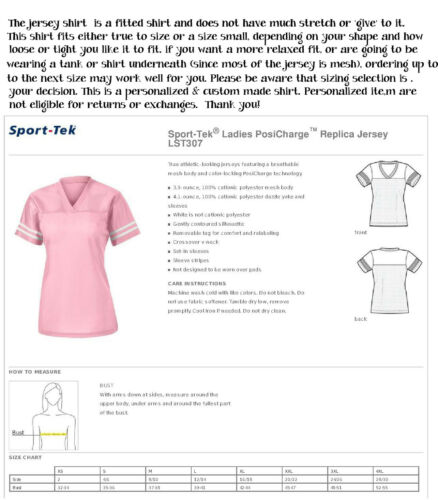 Glitter Tee Football Navy /& Silver Cowboys Jersey Shirt for Ladies//Women