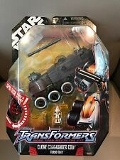 Transformers Star Wars Clone Commander Cody Turbo Tank NEW !!