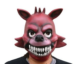 Full Head FNAF 3 Five Nights At Freddy's Costume Foxy the Pirate ...