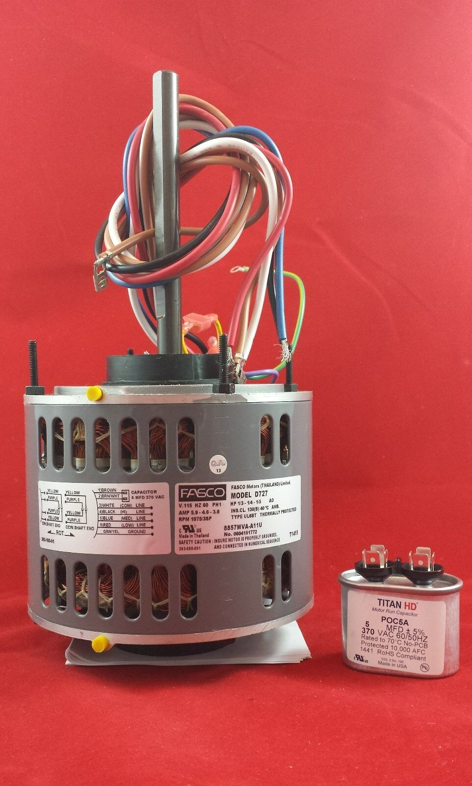 Fasco D721 Wiring | Wiring Liry on