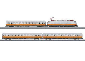 Trix-21680-Lufthansa-Airport-Express-BR-103-101-2-der-DB-034-NEU-034-mit-OVP
