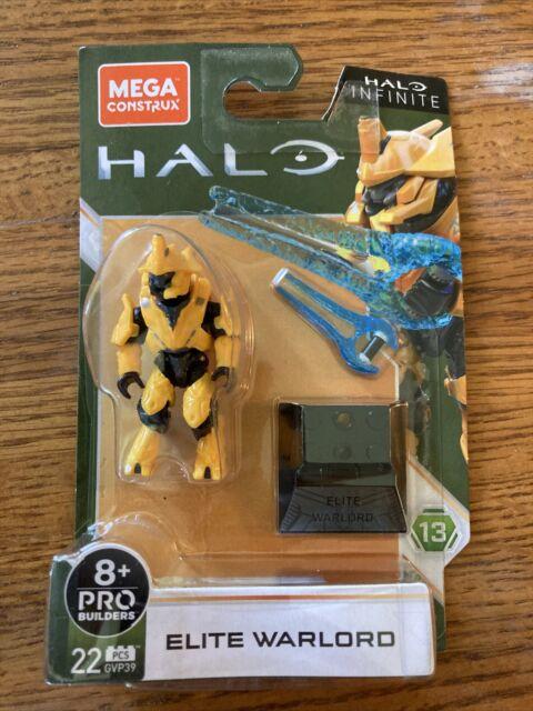 Mega Construx HALO Series13 Elite Warlord (GVP39)-22 Pcs-Brand New