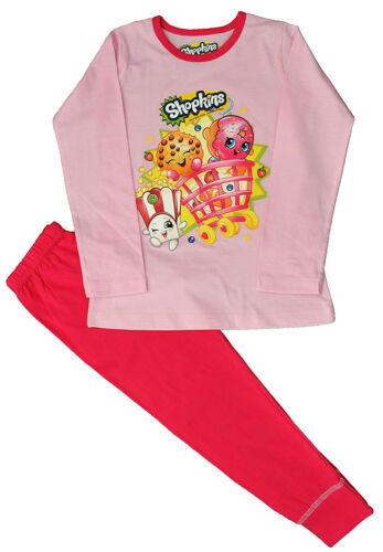 5-6 Ages 4-5 Shopkins Pyjamas 7-8 and 9-10 Years