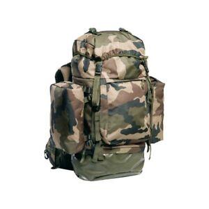 Sac-a-dos-Commando-en-tissu-Camouflage-reglementaire-armee-francaise-100-Litres