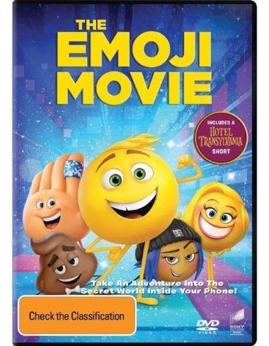 1 of 1 - The Emoji Movie DVD New Australian region free postage!!