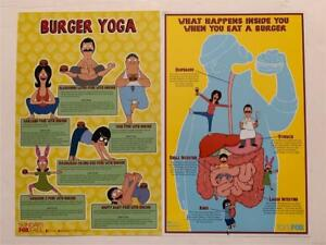 2 SDCC Exclusive Bobs Burgers POSTERS