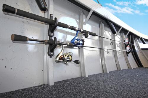 Railblaza RodRak hält 2 Angelruten oder Deckenmontage schwarz Für die Wand