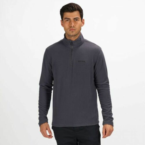 NEW Mens Regatta Light Weight Half Zip Textured Performance Fleece RRP £20