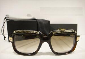 a9da55598d Cazal 607 3 Sunglasses 607 Crystal Stones Color 504 Brown Gold ...