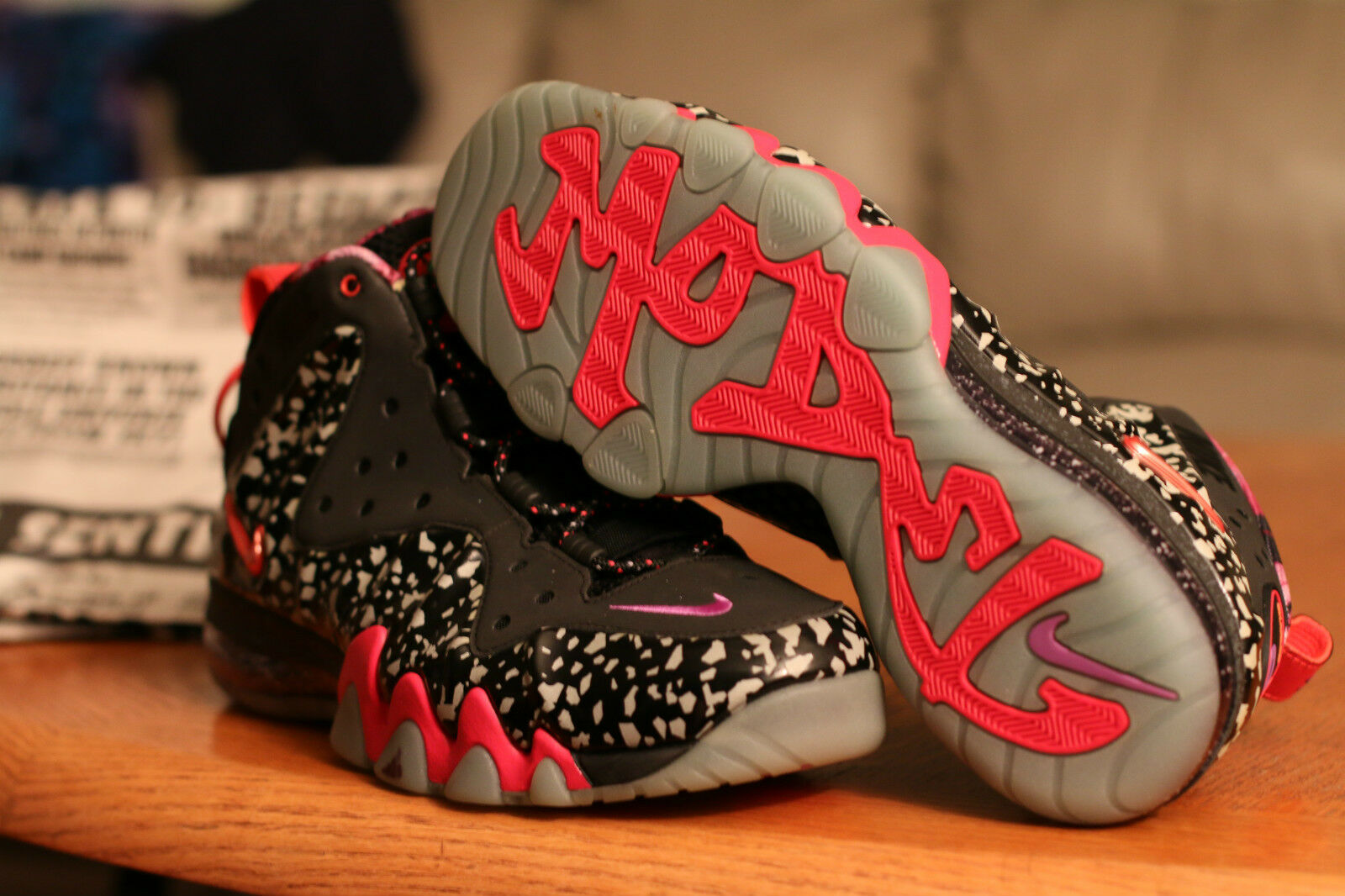 ALLSTAR CHARLES BARKLEY POSITE AREA 72 100% AUTHENTIC NIKE NIB Price reduction Cheap and beautiful fashion