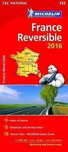 France-Reversible-National-Map-722-Michelin-Road-Atlases-amp-Maps
