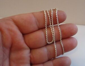 ITALIAN-MADE-925-STERLING-SILVER-DESIGNER-ROPE-CHAIN-18-INCH-LONG-1-5MM-THICK