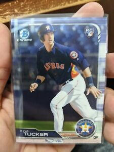 2019-Bowman-Chrome-Kyle-Tucker-RC-Rookie-card-Houston-Astros
