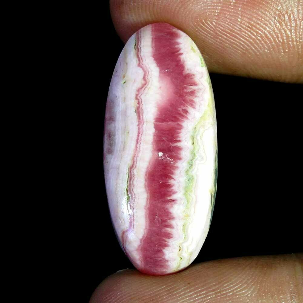 15 carat Rhodochrosite cabochon Argentina 21 x 13 x 4 mm natural