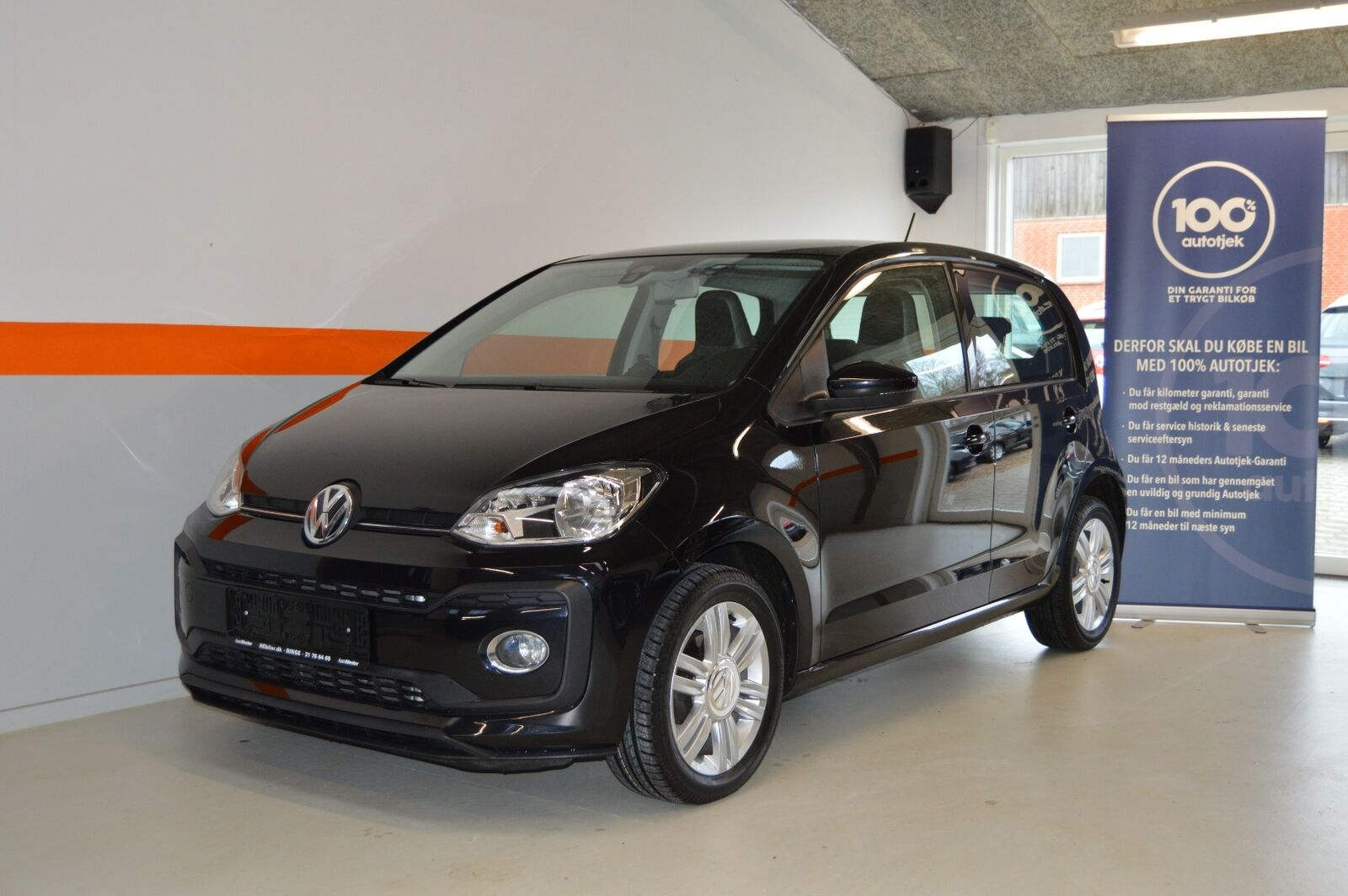 VW Up! 1,0 TSi 90 High Up! BMT 5d - 1.552 kr.