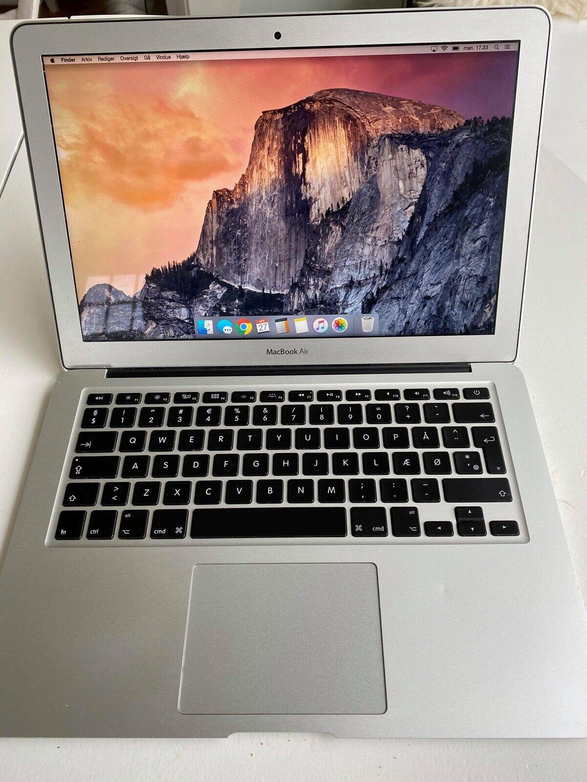 MacBook Air, MacBook Air 13', primo – dba.dk – Køb og Salg