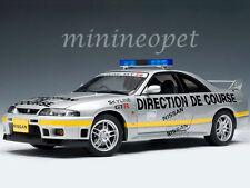 AUTOart 77329 NISSAN SKYLINE GT-R R33 LEMANS PACE CAR 1997 1/18 DIECAST SILVER
