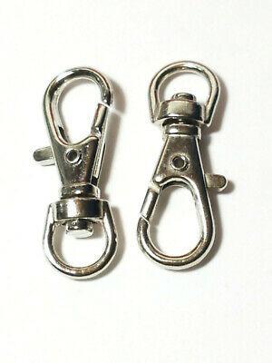 Lot of 1000 100 500 Lobster Clasps Swivel Trigger Clips Snap Hooks Bag Key Ring