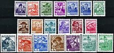 Austria 1934 Traditional Dress Issues Complete MNH Set of 20 Scott's 354 to 373