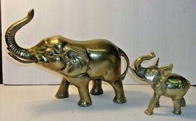 Buda//elefante Remolque de metal latón 53x36mm 1x