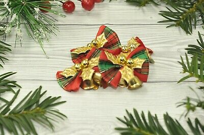 100x Christmas Small Bell Jingle Bells Home Decors for Holiday Decoration