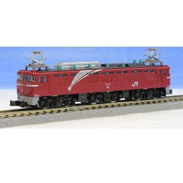 Rokuhan T015-1 Electric Locomotive EF81 Hokutosei Type - Z
