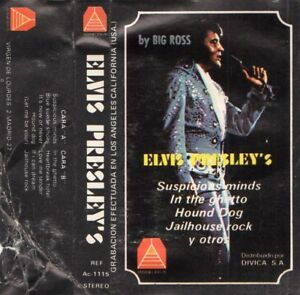 BIG-ROSS-034-ELVIS-PRESLEY-039-S-034-RARE-SPANISH-CASSETTE-RECORDED-IN-LOS-ANGELES-U-S-A